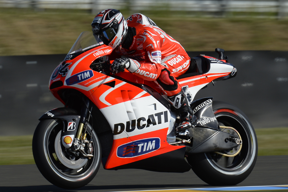 promising start for ducati 39 s dovizioso at le mans. Black Bedroom Furniture Sets. Home Design Ideas