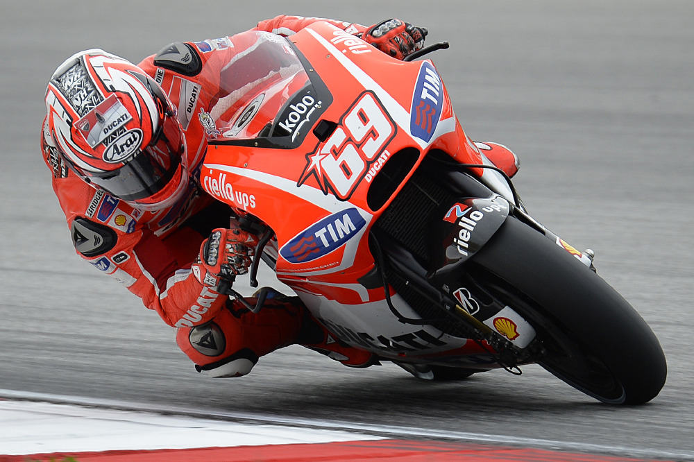 Motogp Sepang Hayden Dovizioso Eighth And Ninth On Day One
