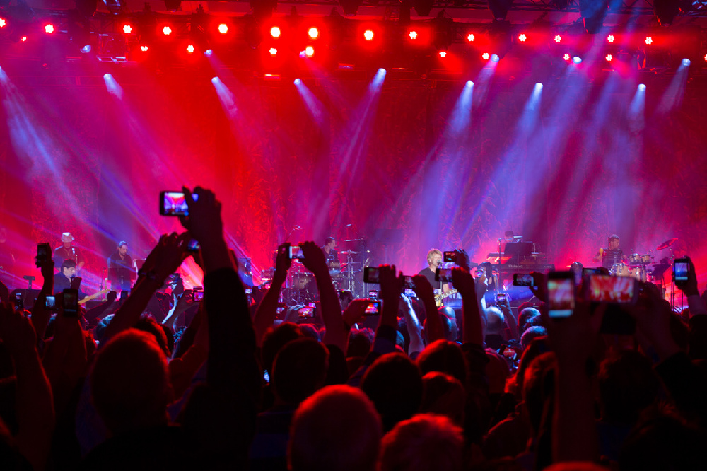 Are we a nation of self-obsessed gig-goers?