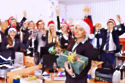 Brits get carried away at Christmas work parties