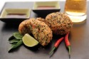 Thai Recipes: Sesame Crisp Thai Crab Cakes