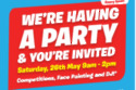 Smyths party poster