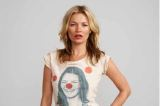 Kate Moss looks as hot as ever modelling for Red Nose Day
