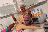 Mr Motivator and Denise Van Outen