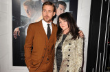 Ryan Gosling and his mum at the world première of Gangster Squad