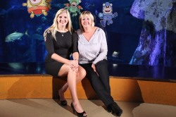 Rebecca and Kay Adlington