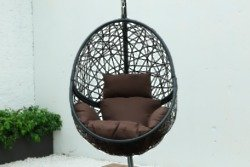 BRIQ Furniture Hanging Egg Shaped Chair