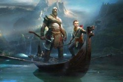 Kratos returns, alongside his son, Atreus