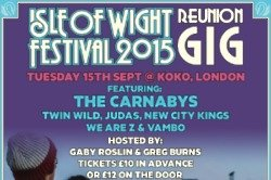 The Isle of Wight Reunion Festival 2015