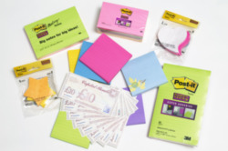 Win some Post-it goodies and high street vouchers