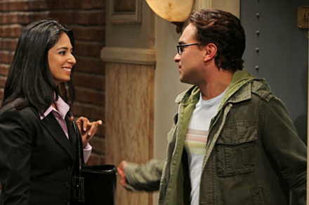 Aarti Mann in 'The Big Bang Theory.'