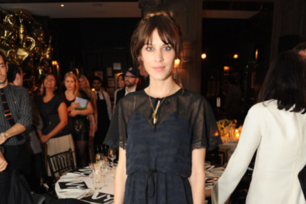 Alexa Chung is rarely seen without a Mulberry bag