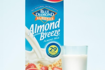Almond Breeze is great way to start the day