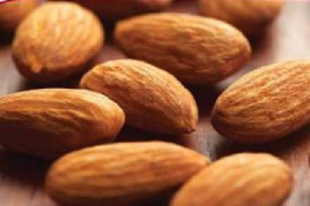 Try to eat more almonds today, and the rest of the time