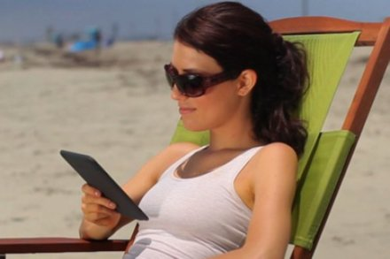 Kindle on holiday