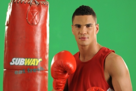 Anthony Ogogo is working with Subway on a new campaign