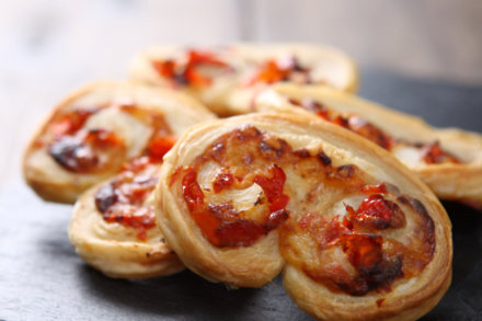 Cheese & Red Pepper Palmiers