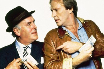 George Cole With Dennis Waterman