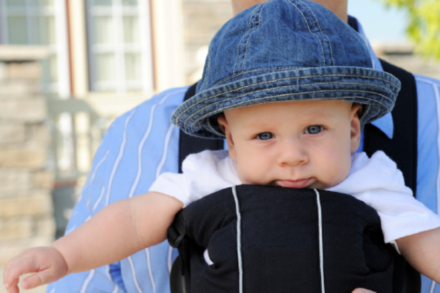 Baby carriers mean more freedom for  parents