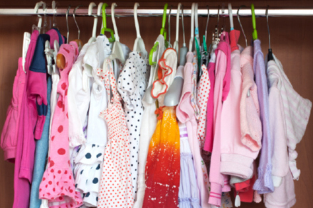 Baby's closets are jam-packed with clothes