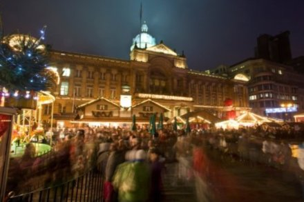 Enjoy the Frankfurt Christmas Market in Birmingham this year