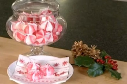 Ruth Clemens' Candy Cane Meringues