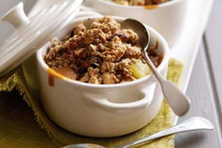 Phil Vickery's Caramel Apple Crumble