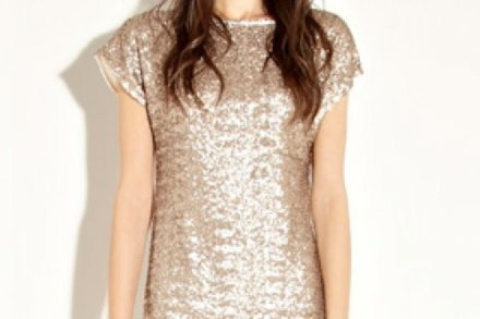 A sequin dress is a great option for New Year's Eve