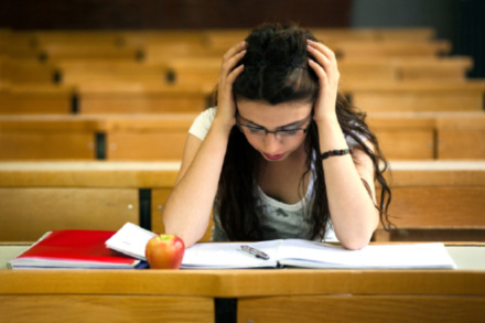 GCSE students are struggling reading exam material