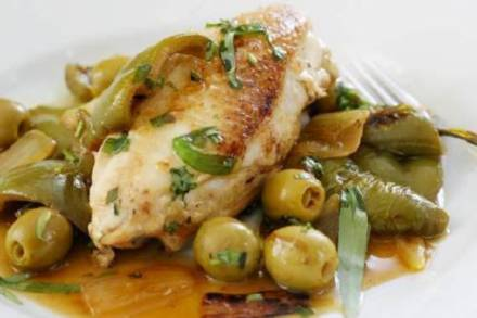 Extra virgin olive oil chicken