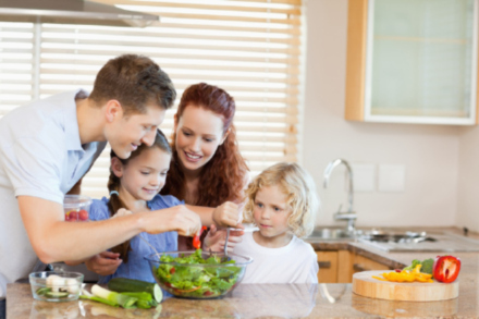What you eat will influence your kids