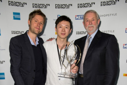 L-R: Christopher Bailey, Haizhen Wang, Colin McDowell