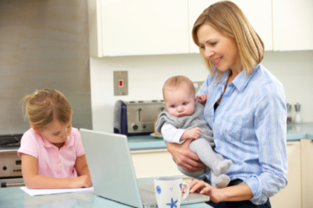 Mums feel trapped by daily routines