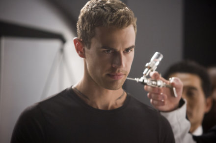 Theo James as Four in Insurgent
