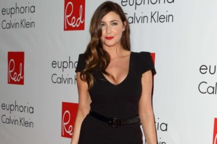 Lisa Snowdon attended the awards ceremony