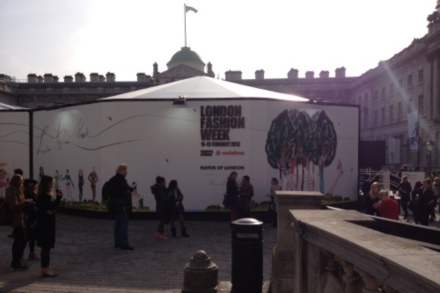 London Fashion Week at Somerset House