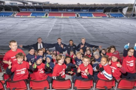 Rugby Stars Launch Tackling Numbers Campaign