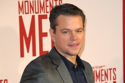 Matt Damon at The Martian premiere