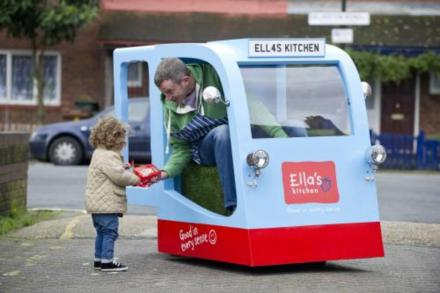 World's Tiniest Milk Float Revealed to Launch New Dairy Range for Kids