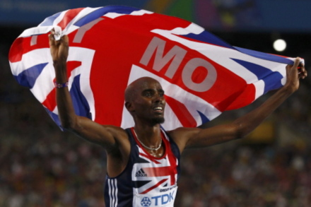Mo Farah and Laura Trott made GB athletic history