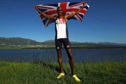 Mo flew the flag high for Team GB this summer