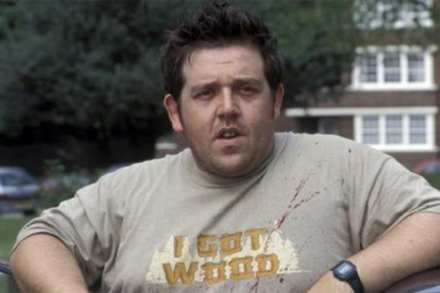 Nick Frost in Shaun of the Dead