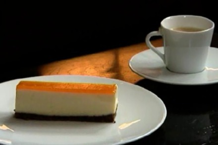 Phil Howard's Nespresso Coffee Cheesecake