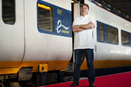 Michelin starred chef is announced as Eurostar's new culinary director