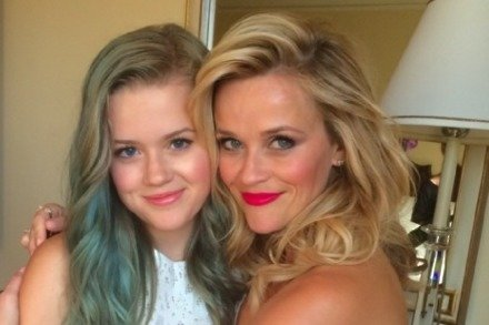 Reese Witherspoon with her daughter Ava