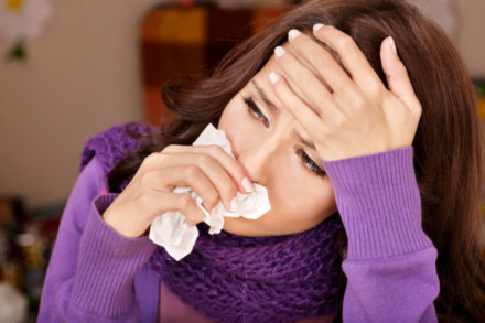 Women take more days off sick during the winter than men new research shows