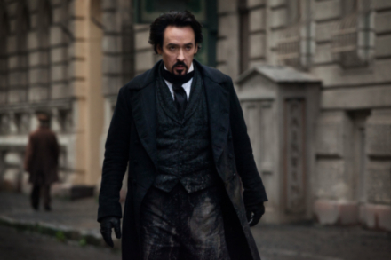 John Cusack in The Raven