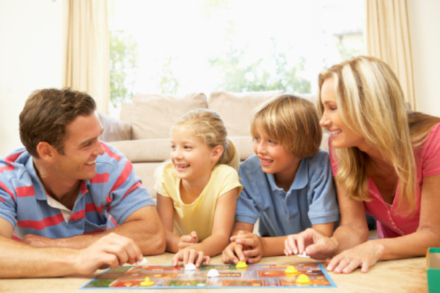 Board games bring families together
