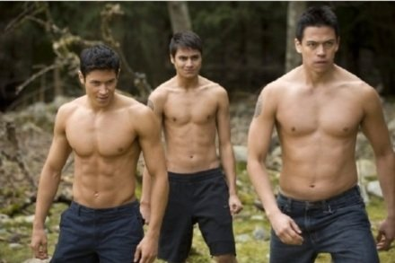 Twilight's Perpetually Shirtless Wolfpack