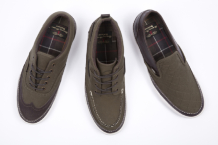 Vans and Barbour